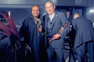 Xavier Quijas Yxayotl and Carlos Nakai
